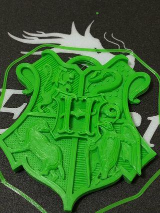 Escudo harry potter 3D