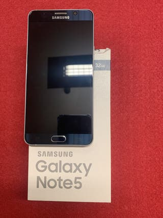 SAMSUNG GALAXY NOTE 5 BLACK SHAPPIRE