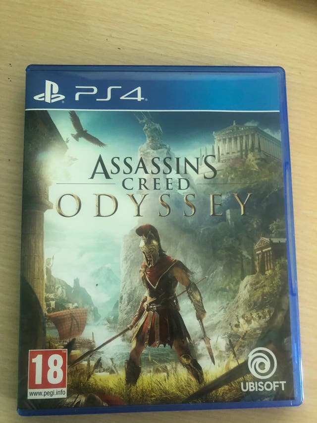 Assassing creed odyssey ps4