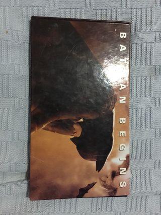 BATMAN BEGINS edicion coleccionista con contenido