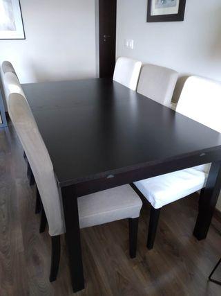 Ikea Mesa En 250 Sillas Mano Por Salón De Segunda Extensible6 € YgyIb76fv