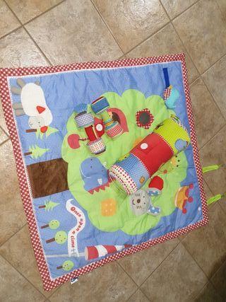 conjunto alfombra para bebes