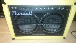 amplificador randall rc235 stereo chorus