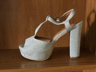 Zapatos talla 37 gris