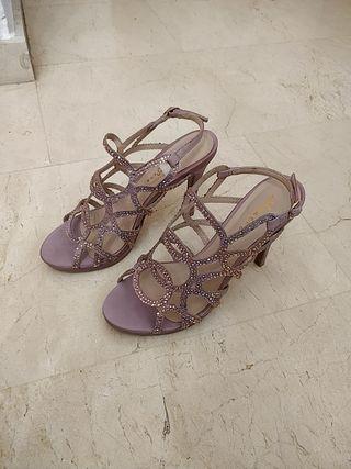 zapatos de tacón talla 37