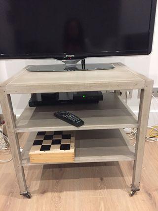 Mueble para la televisión.