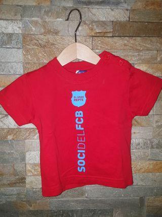 Camiseta manga corta F.C. Barcelona