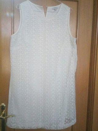 Vestido marfil L