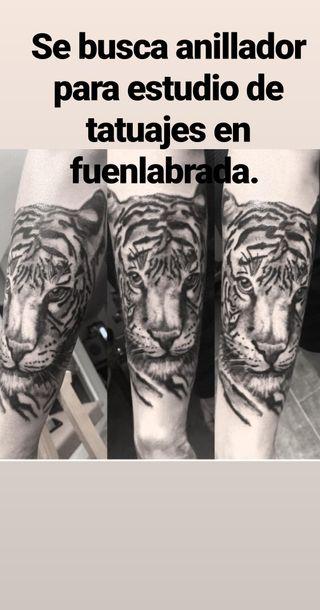 se busca anillador para estudio de tatuajes fuenla