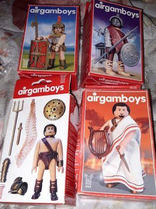 airgamboys 4 modelos diferentes