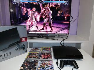 Playstation 3 320Gb + 7 juegos.