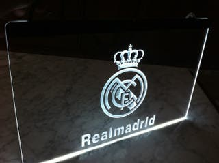 Cartel luminoso Real Madrid