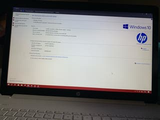 Portátil marca HP