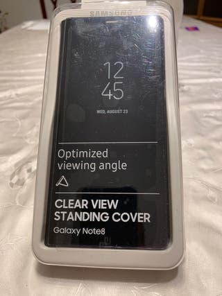 Galaxy Note 8 Clear View Standing Cover
