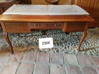 mesa escritorio despacho antigua
