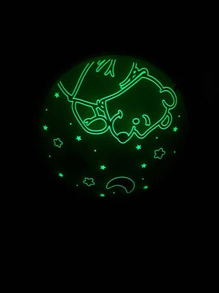 Lámpara infantil fluorescente