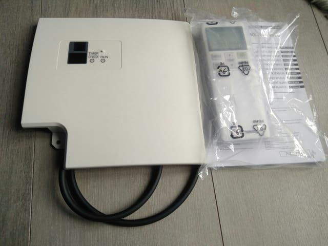 mando y receptor Mitsubishi heavy RCN-T-5AW