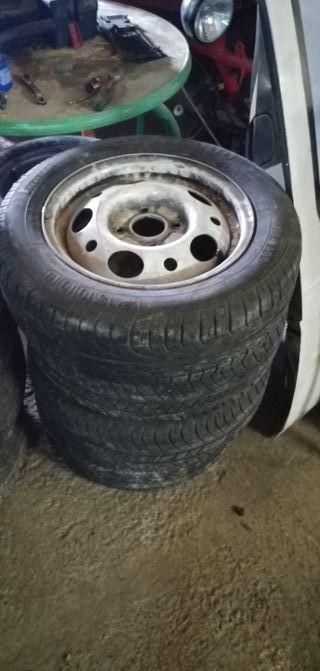 """5 llantas ford sierra 14"""""""