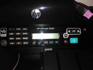 Impresora/Fax/Escáner HP4500