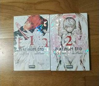 Pack 1 & 2 Platinum End. Comic Manga