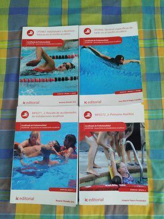 Libros socorrismo acuático