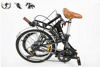Moma Bikes Bicicleta Plegable ruedas 20 pulgadas