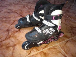 patines de linea 32 hasta 34