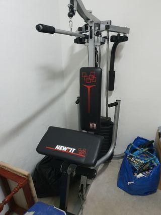 maquina multifunción pesas