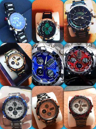 Relojes de Hombre nuevos Dual