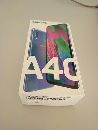 Samsung Galaxy A40 blue