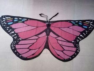 alas de mariposa para niña