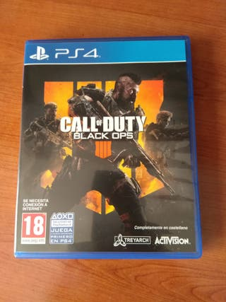 Call of duty black ops 4 Ps4 disco físico
