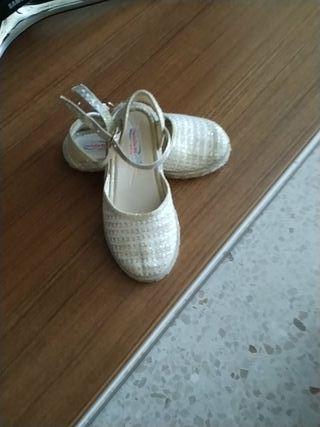 zapatillas de esparto niña
