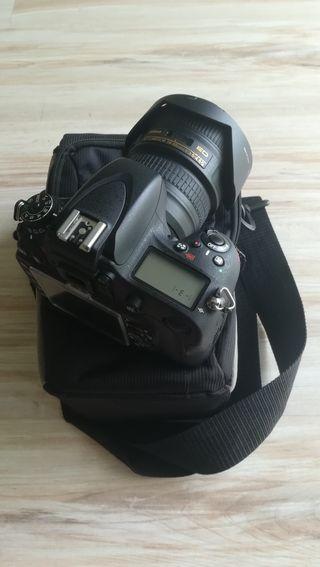 Cámara Nikon D600 + Nikkor 18-35mm + Accesorios