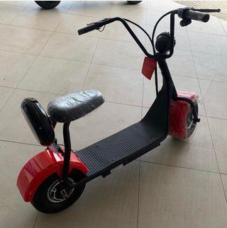 Scooter eléctrica 600W.