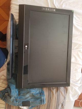 TV LG 32 pulgadas sin control solo tele y cable