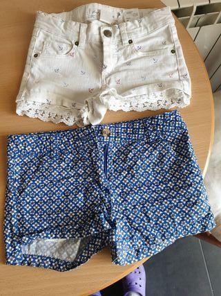 shorts de H&M talla 6-7 años