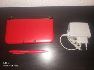 Nintendo 3DS XL y cargador