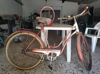 bici clásica varillas BH Especial