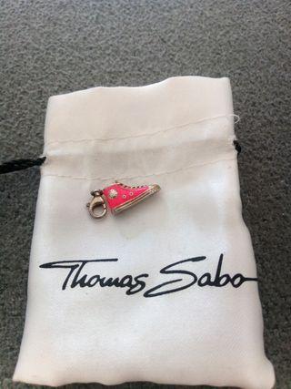 """Charm Thomas Sabo """" Zapatilla rosa neón """""""