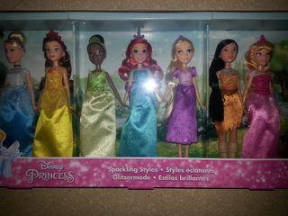 Lote 7 princesas Disney A ESTRENAR