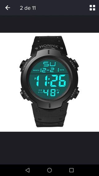 Reloj digital nuevo deportivo marca Honhx