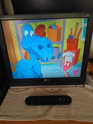 monitor TV 19 LG ( con USB grabador)