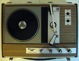 Tocadiscos Königer 2500 Stereo