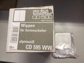 Tecla doble CD 595 WW
