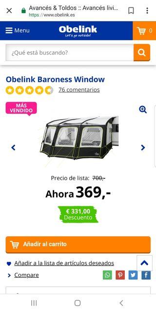 Avance OBELINK Baroness Window