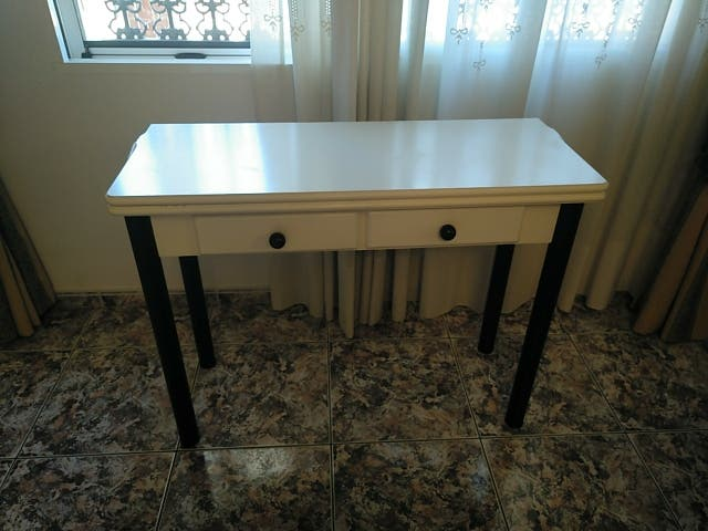 mesa cocina de libro