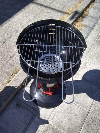 Barbacoa de Carbón 43 cm de diámetro. 6 Personas