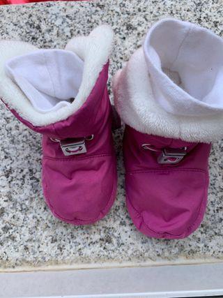 Zapatillas para andar en casa bebe