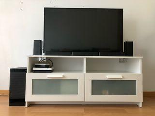 Centro ocio TV+BarraSonido+Mueble